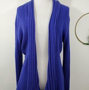 Chaus Royal Blue Sweater Size Medium